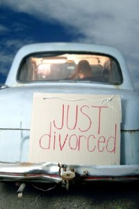 Just divorced.