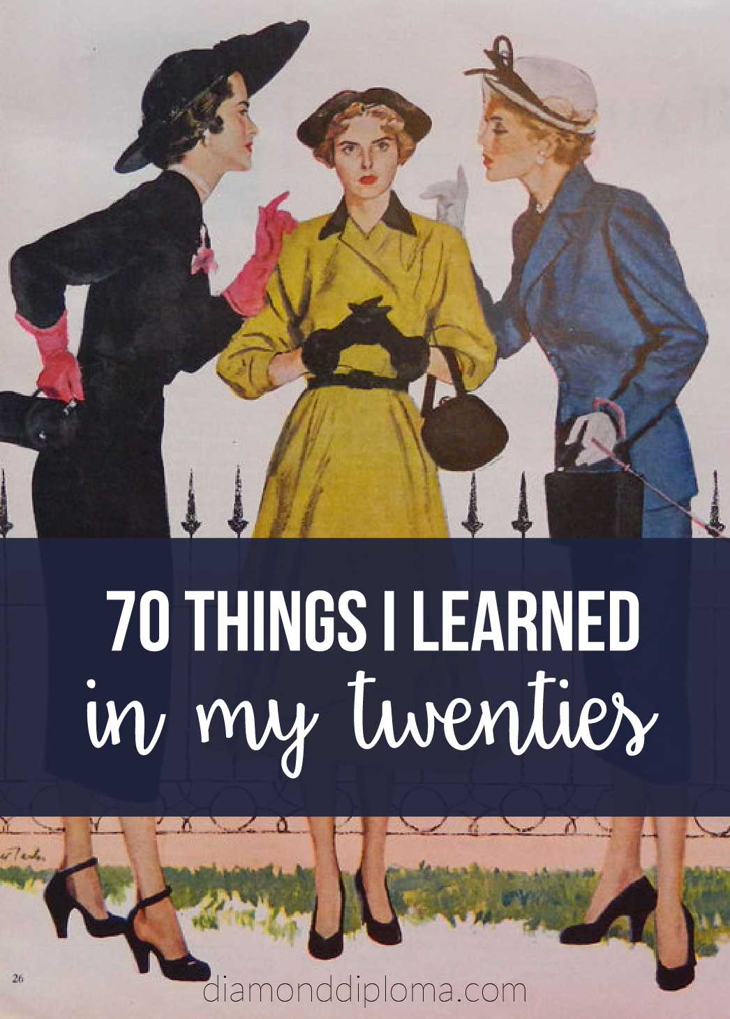 70 Things I Learned In My 20's