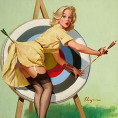 girl bullseye
